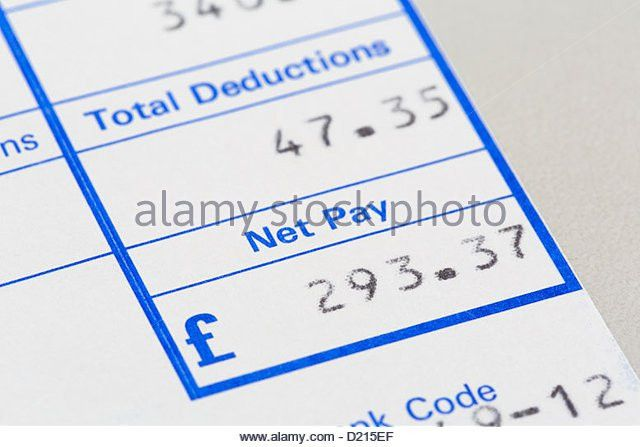 Payslip Stock Photos & Payslip Stock Images - Alamy