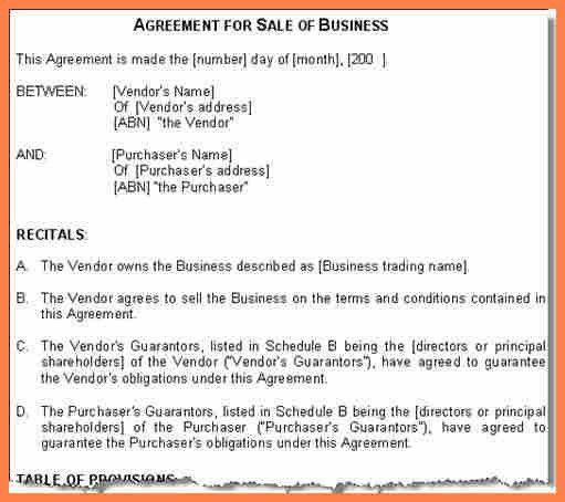 13+ business sale and purchase agreement template | Purchase ...