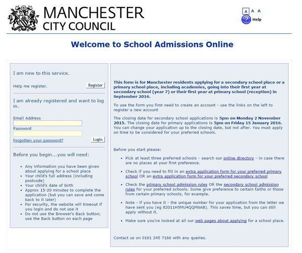 Parents left confused after online primary school applications hit ...