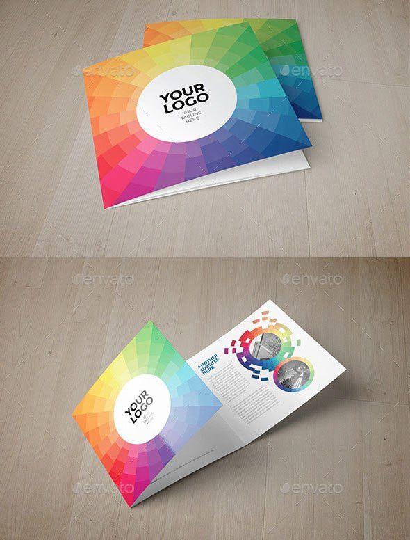21 Striking Square Brochure Template Designs   Web & Graphic ...