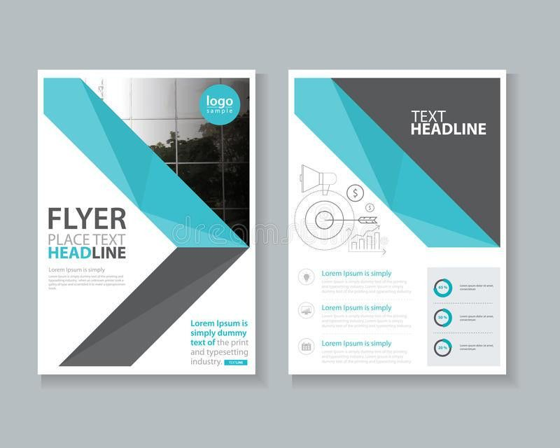 Cover Page Brochure, Flyer ,report Layout Design Template Stock ...