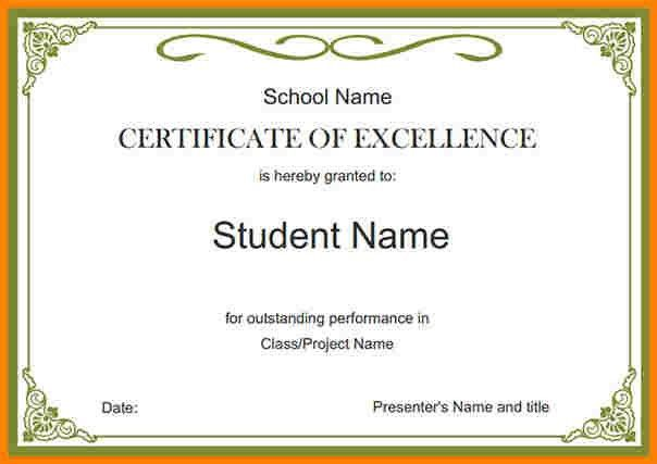 7+ school certificates samples | sample of invoice