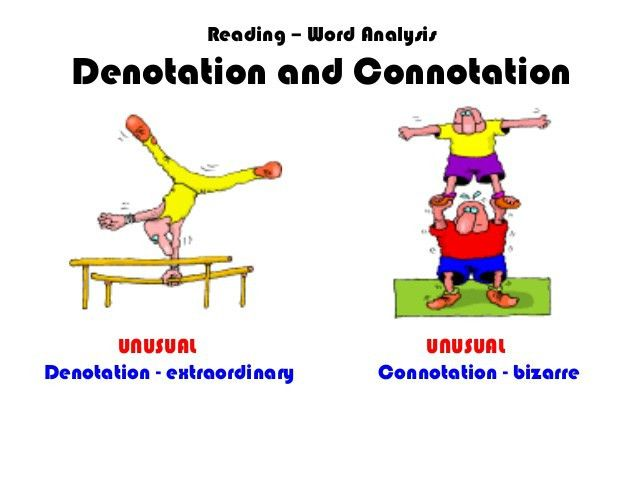 Denotation and-connotation