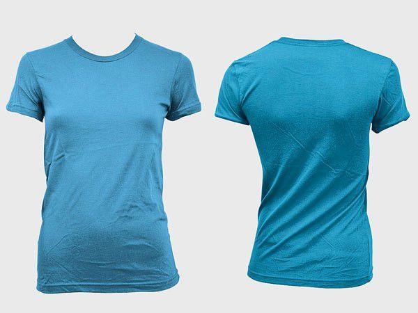 4-Designer | Blank trend of female models short sleeved t shirt ...