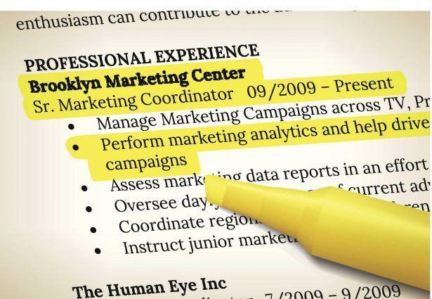 resume marketing profile cv samples of career objective layout ...