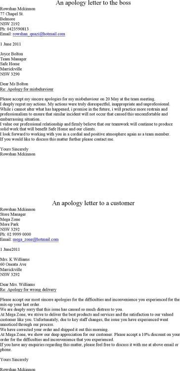 The Brilliant and also Stunning Apology Letter For Shoplifting ...