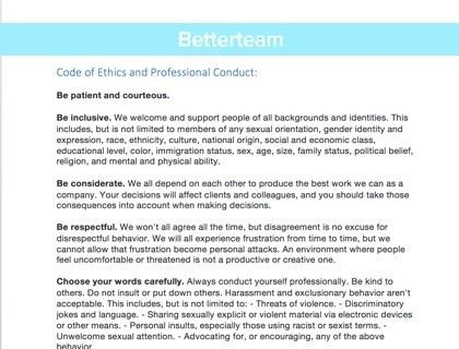Code of Ethics and Professional Conduct [with Examples]