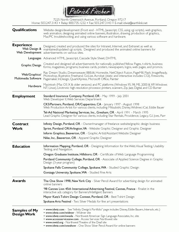 sample painter resume resume cv cover letter. cv format new sample ...
