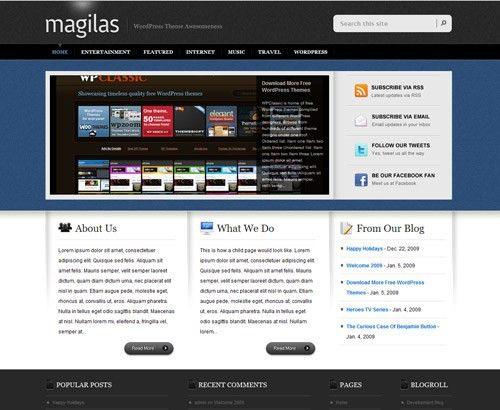 PSD Website Templates: Free High Quality Designs - designrfix ...