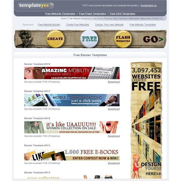 Top 10 Free Website Banner Templates - Free Designs and Banner ...