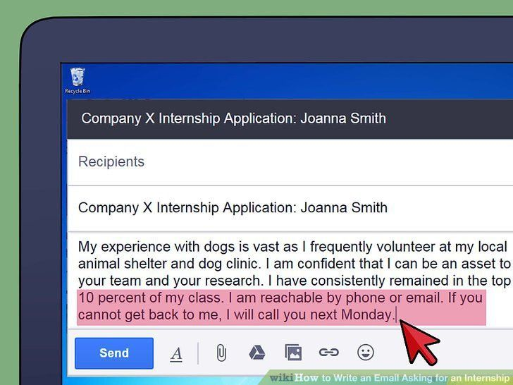 How to Write an Email Asking for an Internship (with Sample Emails)