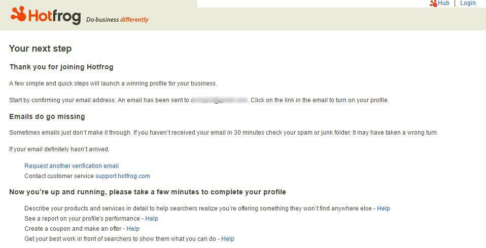 How to claim or add your business listing on Hotfrog?