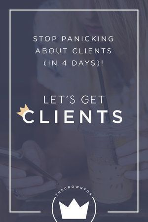Let's Get Clients — TheCrownFox | Graphic Design Assistant to ...