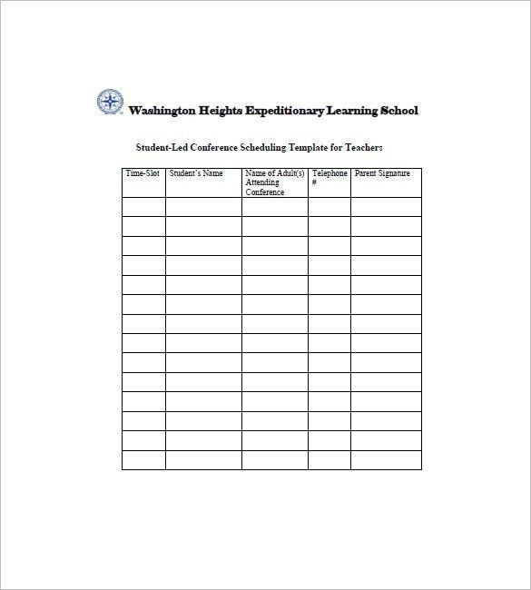 Student Agenda Template – 8+ Free Word, Excel, PDF Format Download ...