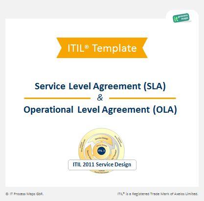 Checklist SLA OLA | IT Process Wiki