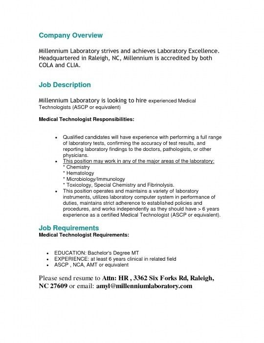 Sample Resume Fresh Graduate Medical Technologist. Resume. Ixiplay ...