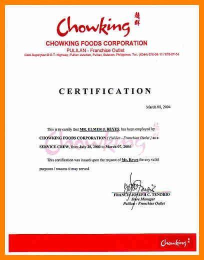 10+ certificate of employment   buyer resume