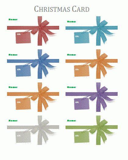 Card Templates | Wordtemplateshub.com