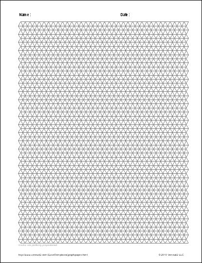 Free Graph Paper Template - Printable Graph Paper and Grid Paper