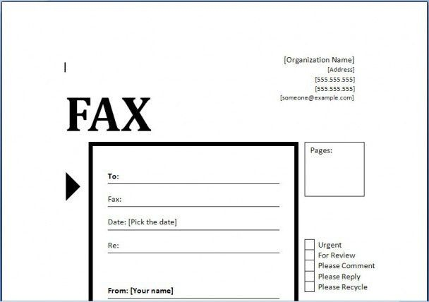 Fax Cover Letter In Pdf. Fax Cover Letter Free Pdf Template ...