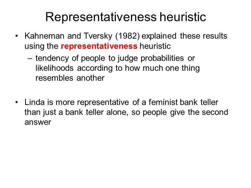 Thinking part II judgment heuristics reasoning decision-making ...