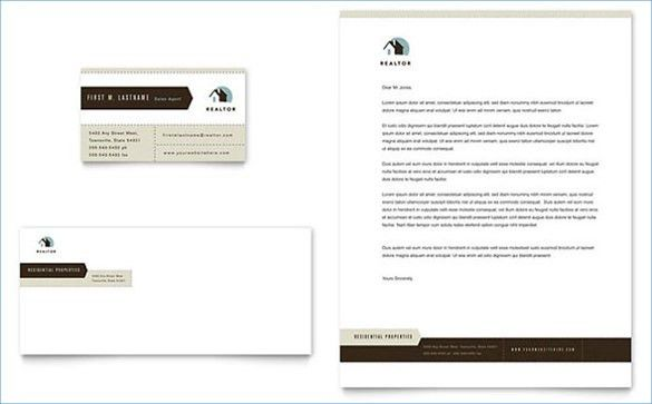 Sample Business Letterhead Template - 19+ Download in PSD, Vector ...