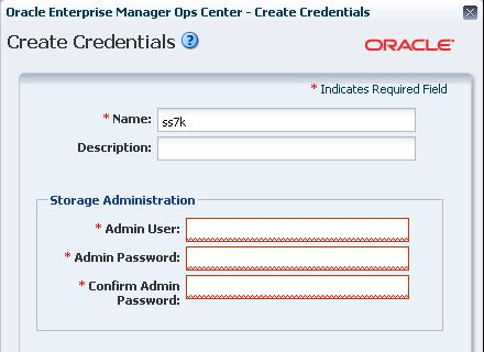 Oracle® Enterprise Manager Ops Center Discover an Oracle ZFS ...