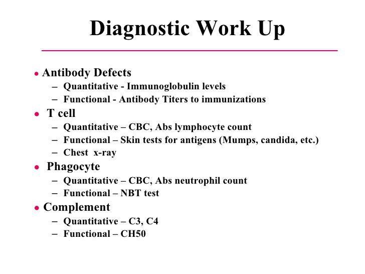 14 Primary Immunodeficiency Diseases