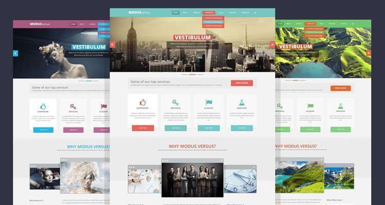 50 Free Web Design Layout Photoshop PSD Templates