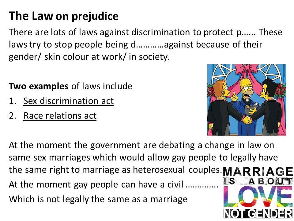 PREJUDICE AND DISCRIMINATION - ppt video online download