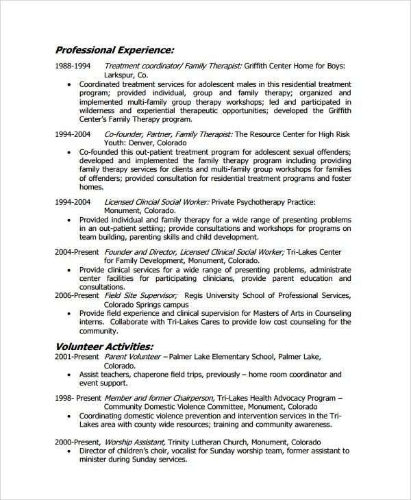 social work resume objective statements writing a good resume ...