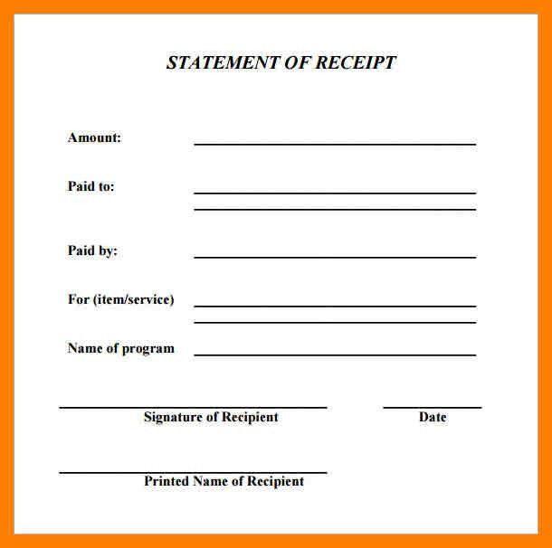 5+ basic receipt pdf | protect letters