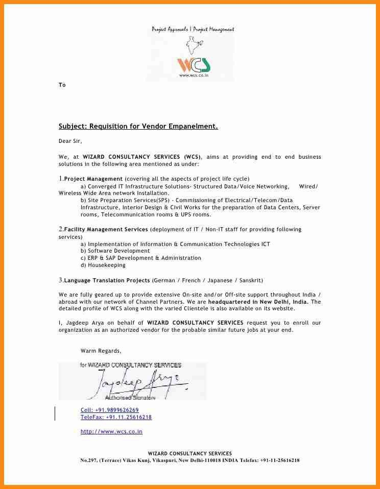 Requisition Letter Format. Requisition Letter Sample Format Noc ...