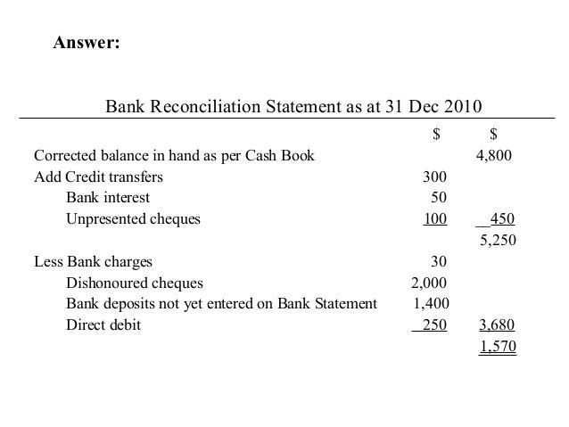 Bank reconciliation.ppt.bose