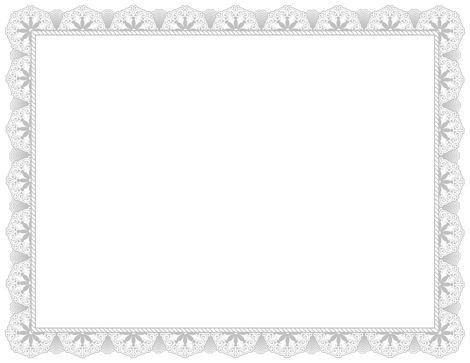 Fancy Certificate Page Boders | Blank Certificates