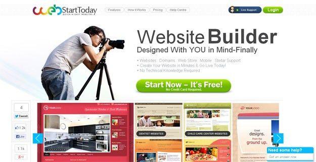 15 Best Free Online Website Builders | Code Geekz