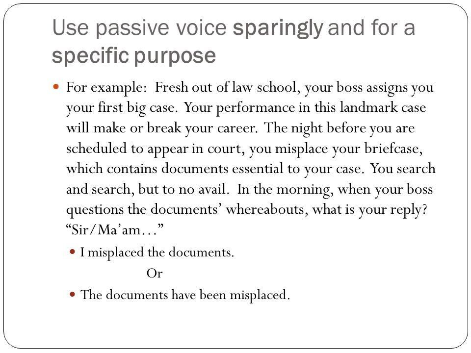 Active vs. Passive Voice - ppt video online download