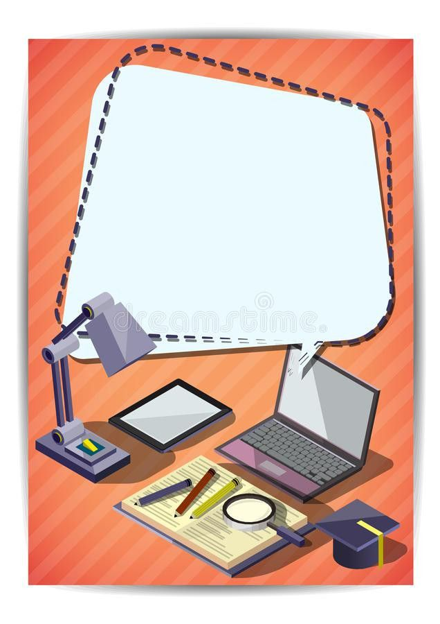 Creative Education Template Flyer Brochure Vector Paper Design ...