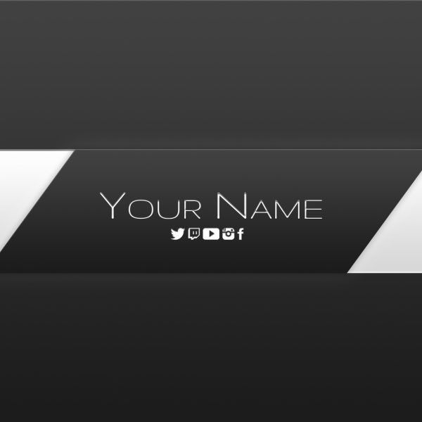 Free Youtube Banner Templates – Helmar Designs with regard to ...