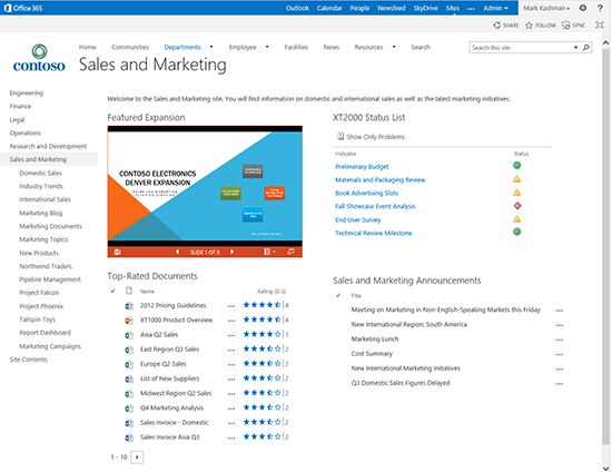 What's new in SharePoint Online–top 10 - Office Blogs