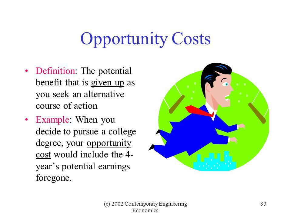 c) 2002 Contemporary Engineering Economics 1 Chapter 3 Cost ...