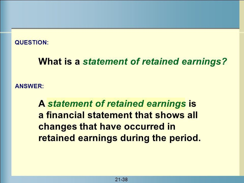 Corporate Earnings and Capital Transactions - ppt download