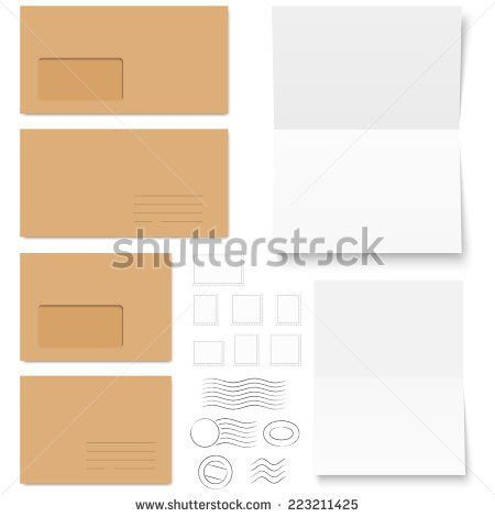 Layout Trifold Brochures Cover Design Scuffed Stock Vector ...