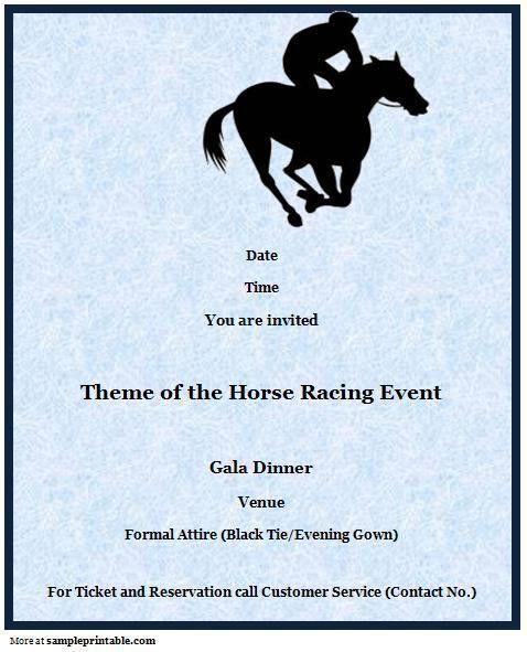 Sports Event Invitation, Printable Sports Event Invitation ...