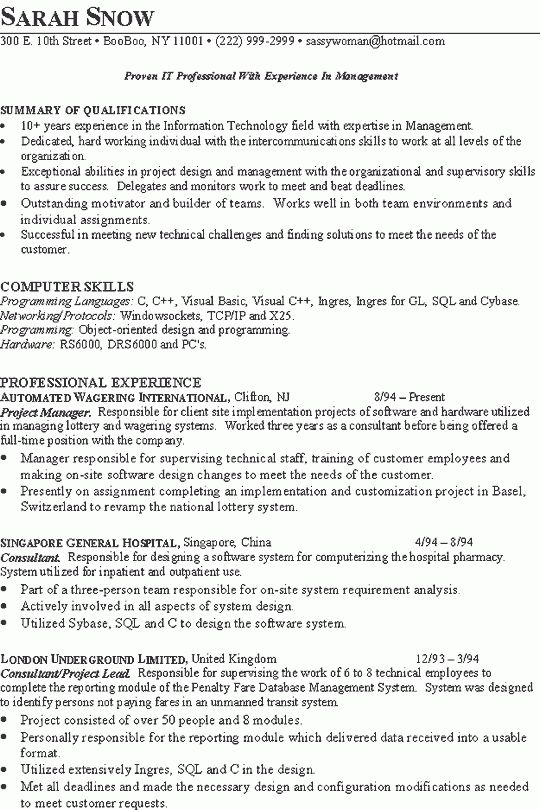 technical director resume samples template template scenic high ...