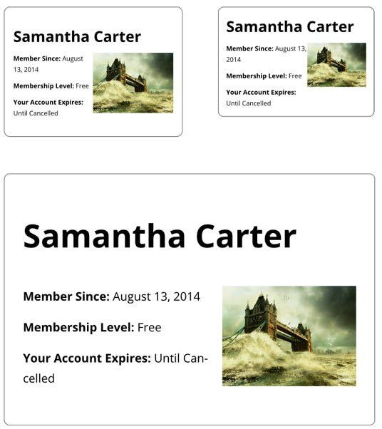 Printable Membership Card Addon