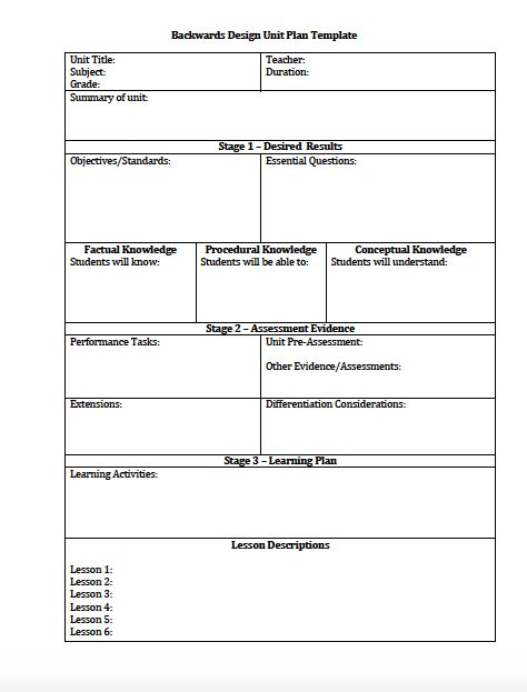 Single Lesson Plan Template | Lesson plan templates, Blank lesson ...