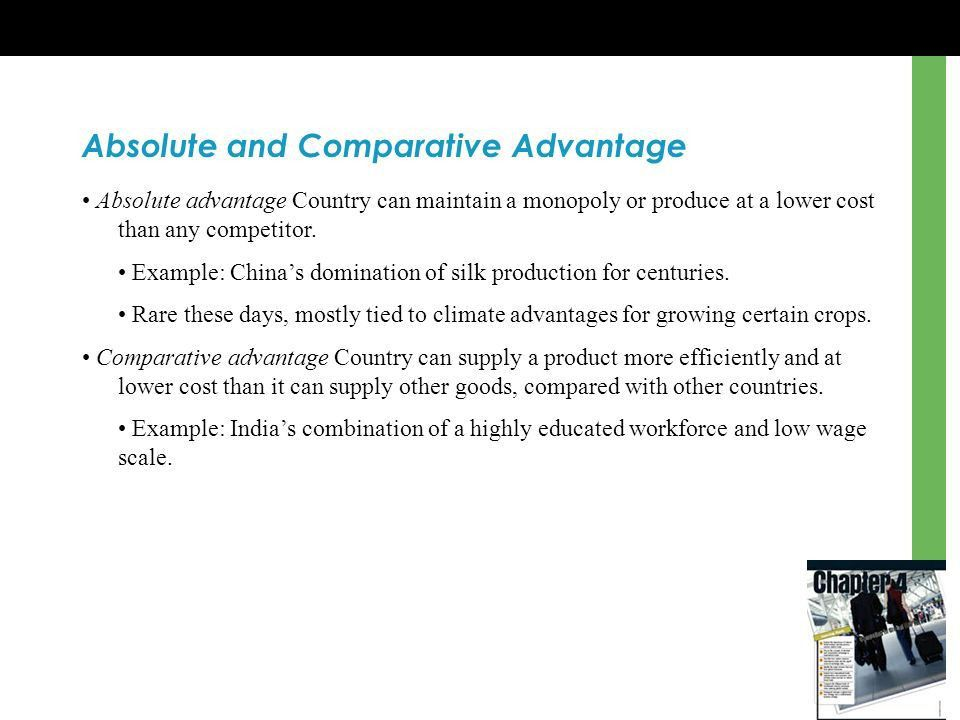 Chapter 4 Competing in Global Markets Learning Goals Explain ...