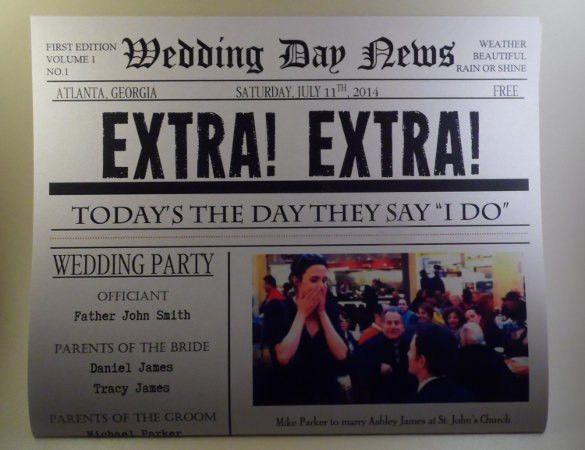 15+ Newspaper Headline Templates – Free Sample, Example, Format ...