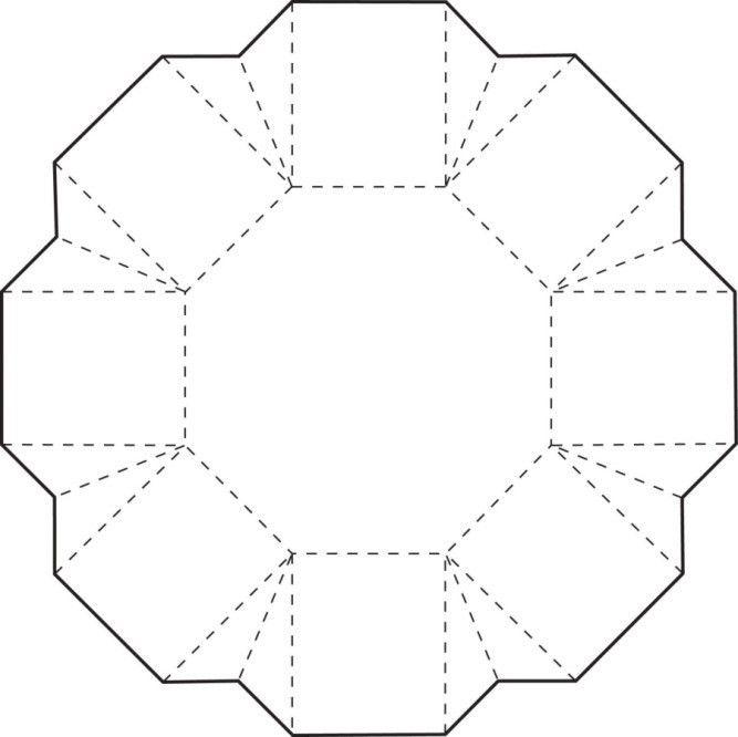 free printable box templates flower